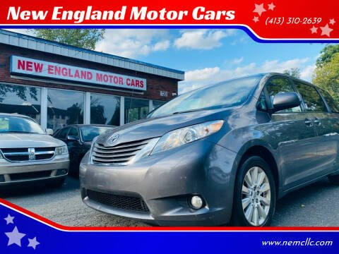 2014 Toyota Sienna for sale at New England Motor Cars in Springfield MA