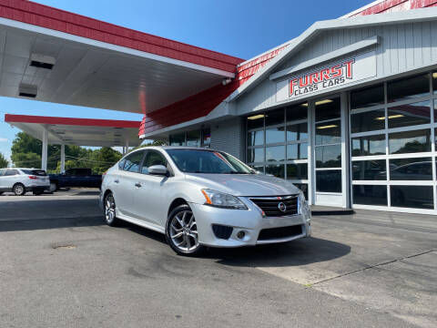 2013 Nissan Sentra for sale at Furrst Class Cars LLC in Charlotte NC