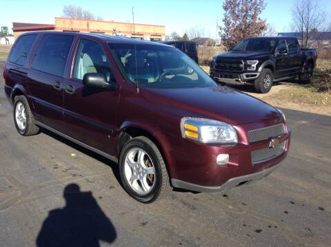 2008 Chevrolet Uplander for sale at Bruns & Sons Auto in Plover WI