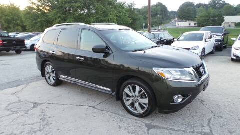 2015 Nissan Pathfinder for sale at Unlimited Auto Sales in Upper Marlboro MD