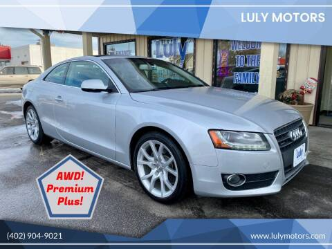 2012 Audi A5 for sale at Luly Motors in Lincoln NE