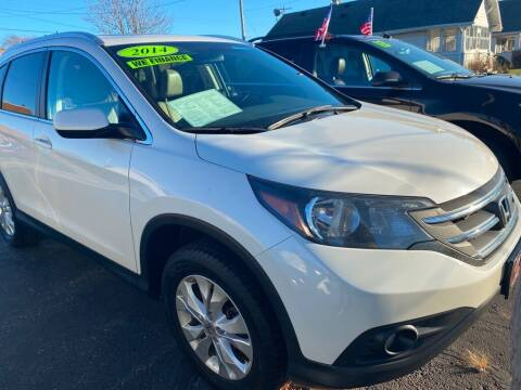 2014 Honda CR-V for sale at Zs Auto Sales in Kenosha WI