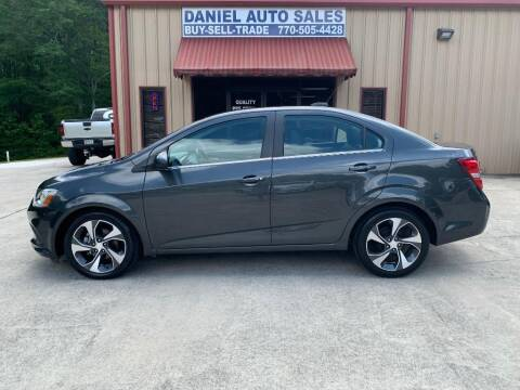 2017 Chevrolet Sonic for sale at Daniel Used Auto Sales in Dallas GA