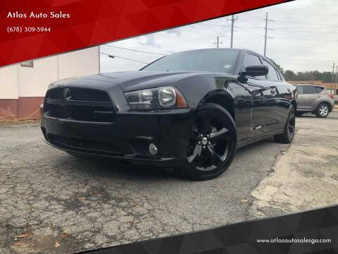 2012 Dodge Charger for sale at Atlas Auto Sales in Smyrna GA