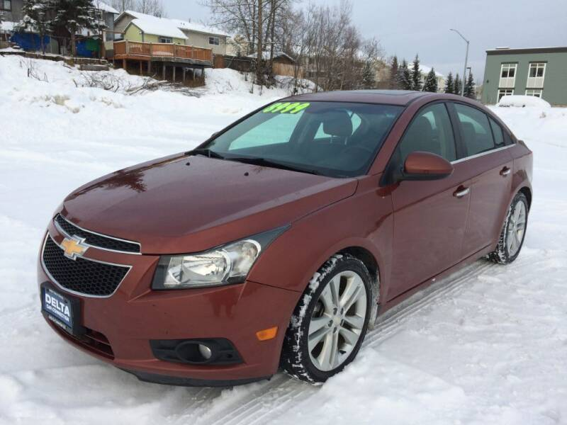 2012 Chevrolet Cruze for sale at Delta Car Connection LLC in Anchorage AK