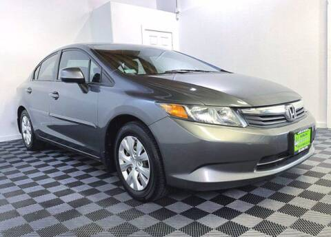 2012 Honda Civic for sale at Sunset Auto Wholesale in Tacoma WA