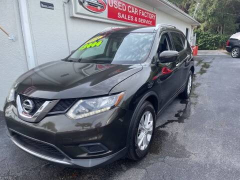 2016 Nissan Rogue for sale at Used Car Factory Sales & Service in Port Charlotte FL