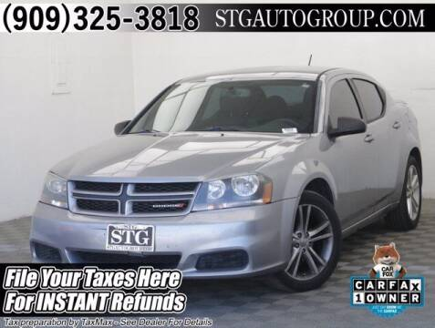 2014 Dodge Avenger for sale at STG Auto Group in Montclair CA