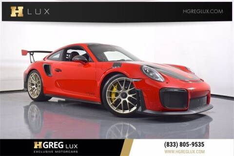 2018 Porsche 911 for sale at HGREG LUX EXCLUSIVE MOTORCARS in Pompano Beach FL