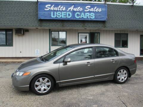 2008 Honda Civic for sale at SHULTS AUTO SALES INC. in Crystal Lake IL