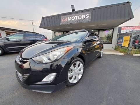 2013 Hyundai Elantra for sale at LA Motors LLC in Denver CO