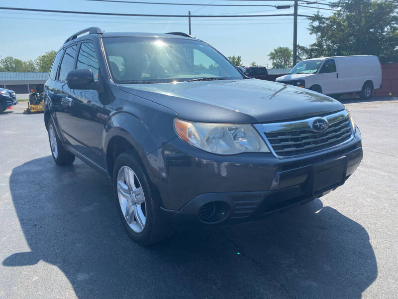 2010 Subaru Forester for sale at Action Automotive Service LLC in Hudson NY