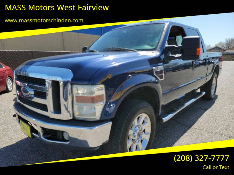 2008 Ford F-250 Super Duty for sale at M.A.S.S. Motors - West Fairview in Boise ID