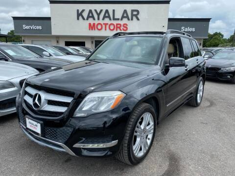 2013 Mercedes-Benz GLK for sale at KAYALAR MOTORS in Houston TX