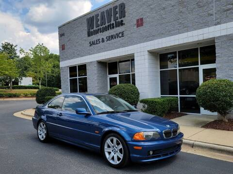 2001 BMW 3 Series for sale at Weaver Motorsports Inc in Cary NC