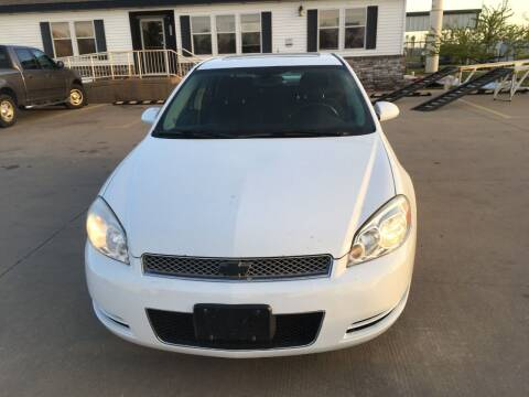2012 Chevrolet Impala for sale at Zoom Auto Sales in Oklahoma City OK