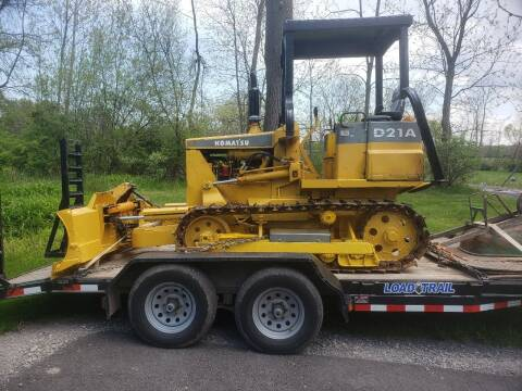 1985 Komatsu  D21a-5 for sale at Brian's Sales and Service in Rochester NY