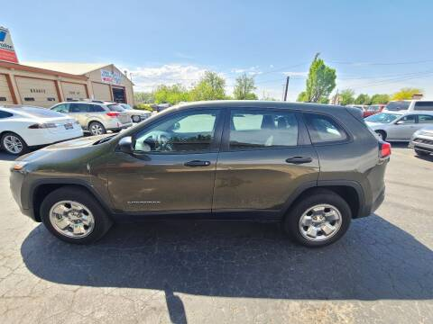 2015 Jeep Cherokee for sale at Silverline Auto Boise in Meridian ID
