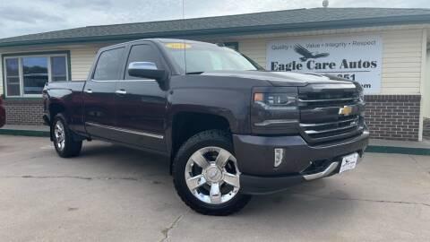 2016 Chevrolet Silverado 1500 for sale at Eagle Care Autos in Mcpherson KS