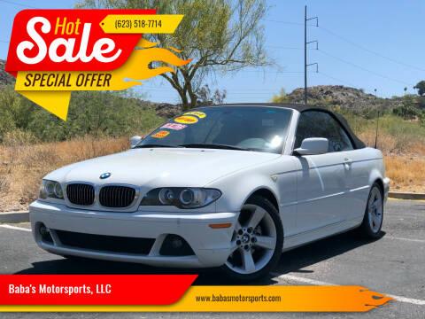 2005 BMW 3 Series for sale at Baba's Motorsports, LLC in Phoenix AZ