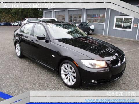 2011 BMW 3 Series for sale at Autoplex Motors in Lynnwood WA