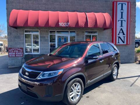 2014 Kia Sorento for sale at Titan Auto Sales LLC in Albany NY