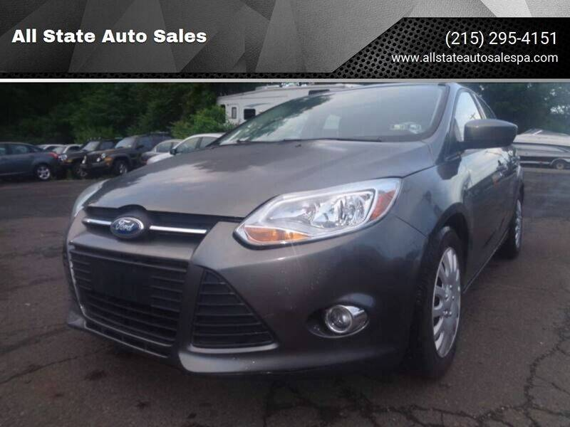 2012 Ford Focus for sale at All State Auto Sales in Morrisville PA