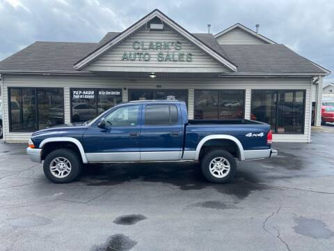 2004 Dodge Dakota for sale at Clarks Auto Sales in Middletown OH