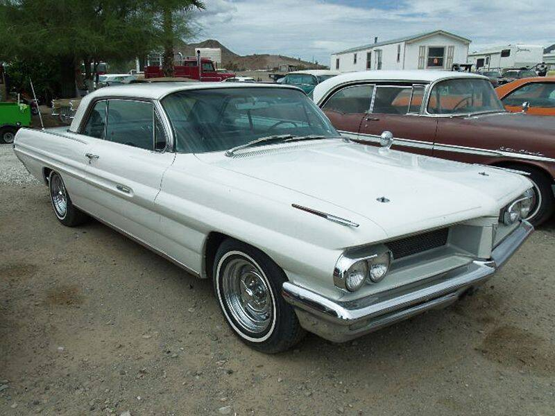 1962 Pontiac Grand Prix for sale at Collector Car Channel - Desert Gardens Mobile Homes in Quartzsite AZ