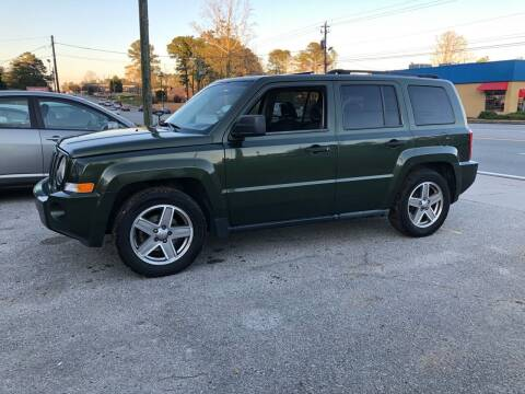 2008 Jeep Patriot for sale at ATLANTA AUTO WAY in Duluth GA