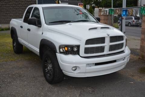 2005 Dodge Ram Pickup 1500 for sale at CASTLE AUTO AUCTION INC. in Scranton PA