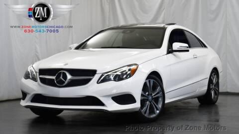 2016 Mercedes-Benz E-Class for sale at ZONE MOTORS in Addison IL