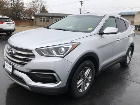 2017 Hyundai Santa Fe Sport for sale at INVICTUS MOTOR COMPANY in West Valley City UT