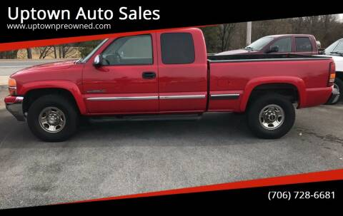 1999 GMC Sierra 2500 for sale at Uptown Auto Sales in Rome GA