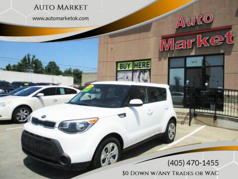 2014 Kia Soul for sale at Auto Market in Oklahoma City OK