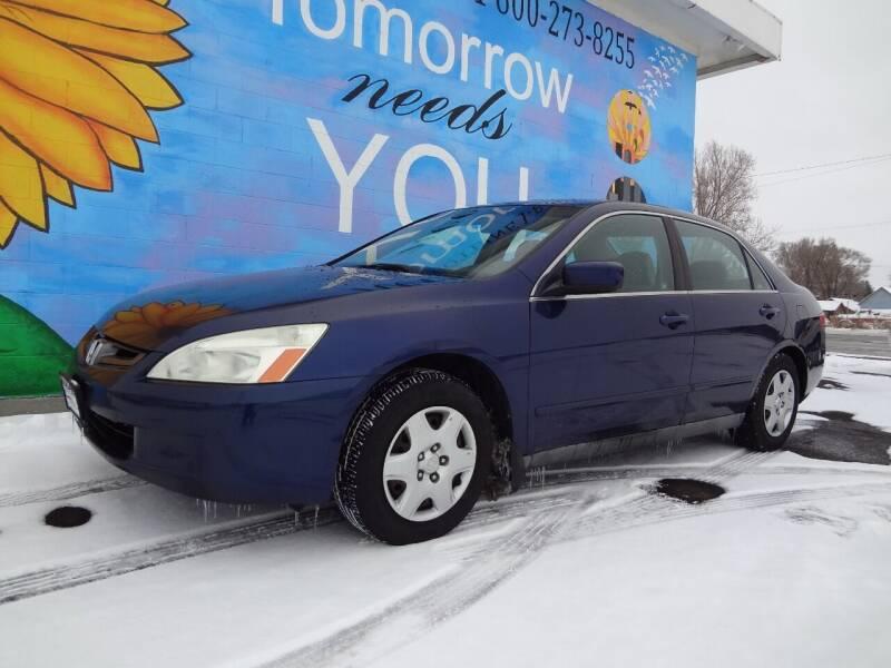 2005 Honda Accord for sale at FINISH LINE AUTO SALES in Idaho Falls ID