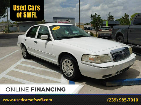 2006 Mercury Grand Marquis for sale at Used Cars of SWFL in Fort Myers FL