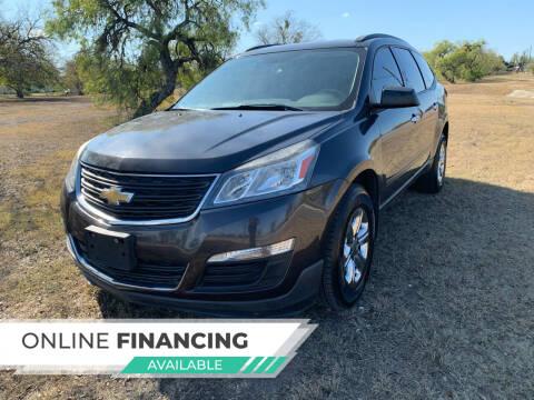 2014 Chevrolet Traverse for sale at H & H AUTO SALES in San Antonio TX