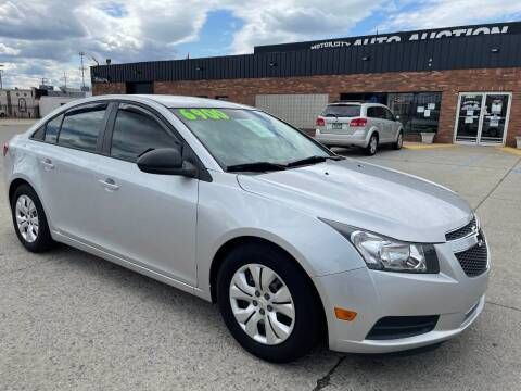 2013 Chevrolet Cruze for sale at Motor City Auto Auction in Fraser MI