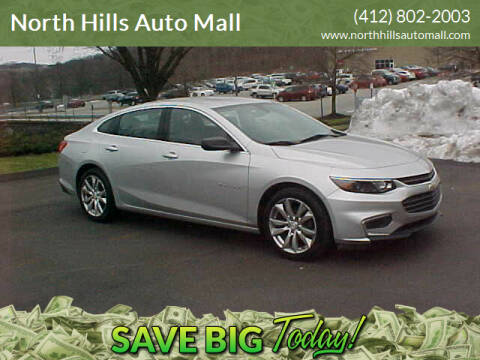 2016 Chevrolet Malibu for sale at North Hills Auto Mall in Pittsburgh PA