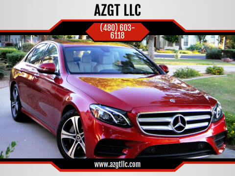 2017 Mercedes-Benz E-Class for sale at AZGT LLC in Phoenix AZ