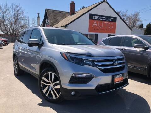 2017 Honda Pilot for sale at Discount Auto Brokers Inc. in Lehi UT