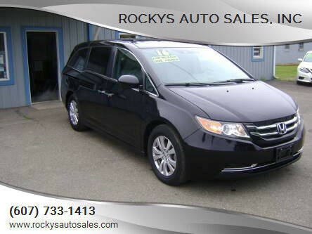 2016 Honda Odyssey for sale at Rockys Auto Sales, Inc in Elmira NY