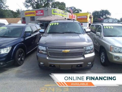2013 Chevrolet Tahoe for sale at Marino's Auto Sales in Laurel DE
