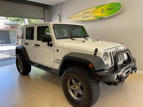 2014 Jeep Wrangler Unlimited for sale at Jeep and Truck USA in Tampa FL