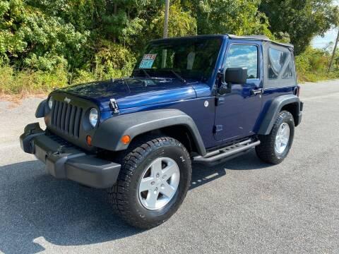 2013 Jeep Wrangler for sale at Autoteam of Valdosta in Valdosta GA