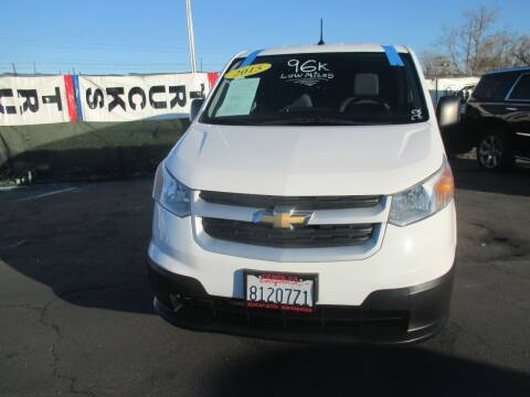 2015 Chevrolet City Express Cargo for sale at Quick Auto Sales in Modesto CA