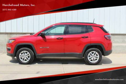 2017 Jeep Compass for sale at Harchelroad Motors, Inc. in Wauneta NE