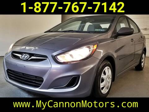 2014 Hyundai Accent for sale at Cannon Motors in Silverdale PA