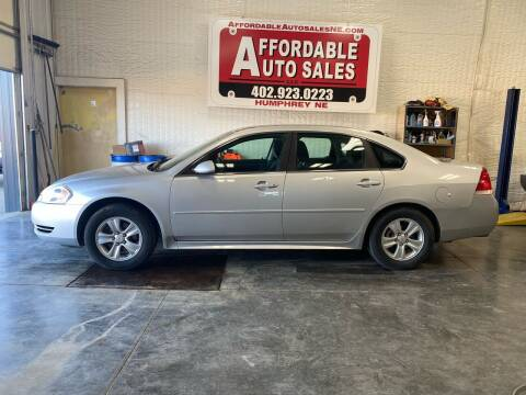 2012 Chevrolet Impala for sale at Affordable Auto Sales in Humphrey NE